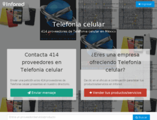 telefonia-celular.infored.com.mx screenshot