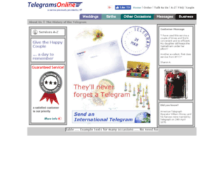 telegramsonline.co.uk screenshot