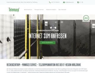 telemaxx.de screenshot