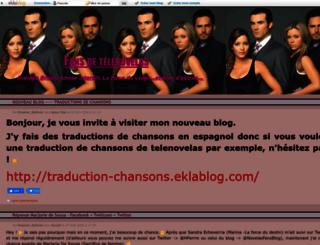 telenovelas.eklablog.net screenshot