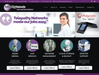 telepathynetworks.com screenshot