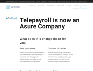 telepayroll.com screenshot