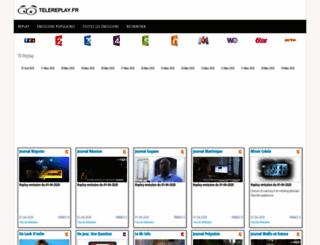 telereplay.fr screenshot