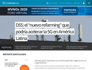 telesemana.com screenshot