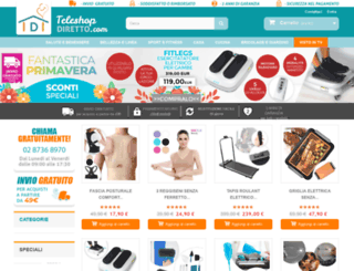teleshopdiretto.com screenshot