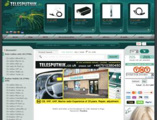 telesputnik.co.uk screenshot