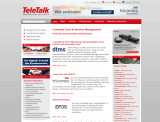 teletalk.de screenshot