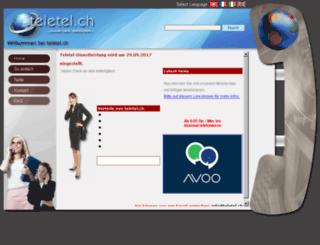 teletel.ch screenshot