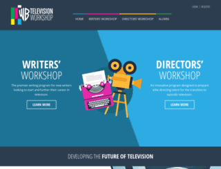 televisionworkshop.warnerbros.com screenshot