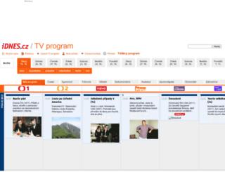 televize.cz screenshot