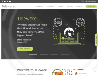 teleware.com screenshot