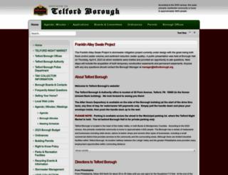 telfordborough.org screenshot