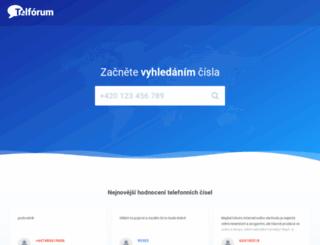 telforum.cz screenshot