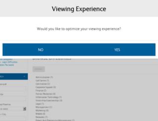 telkom.erecruit.co.za screenshot