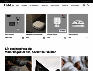 telldus.se screenshot