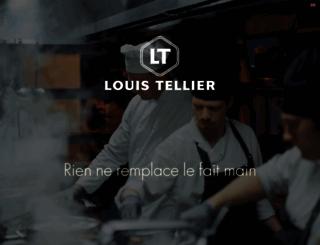 tellier.fr screenshot