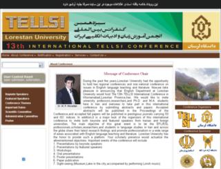 tellsi13.lu.ac.ir screenshot