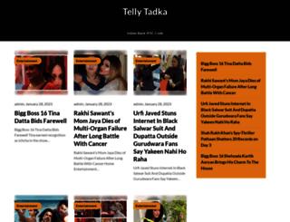 tellytadka.net screenshot