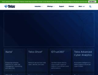 telos.com screenshot