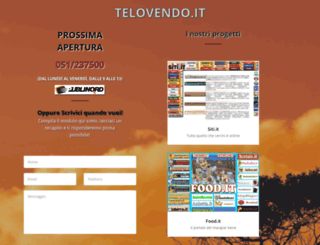 telovendo.it screenshot