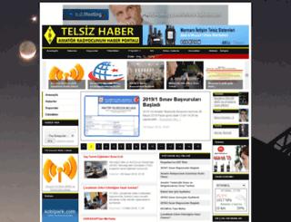 telsizhaber.com screenshot