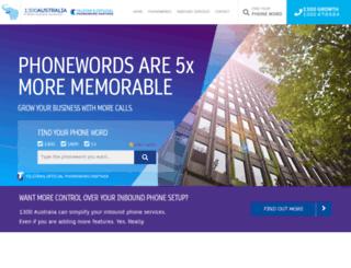 telstraphonewords.com.au screenshot