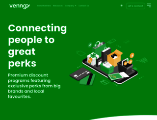 telusk.venngo.com screenshot