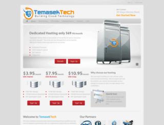 temasektech.com screenshot