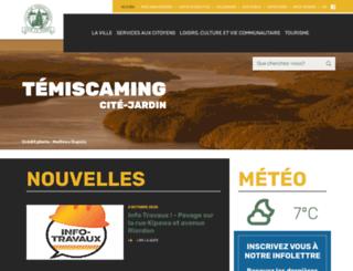 temiscaming.net screenshot