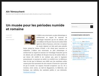 temouchent-info.com screenshot