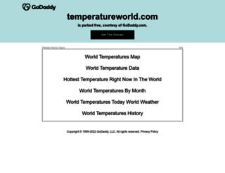 temperatureworld.com screenshot
