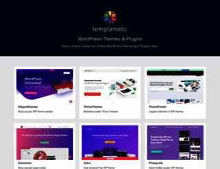 templamatic.com screenshot