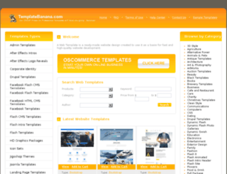templatebanana.com screenshot