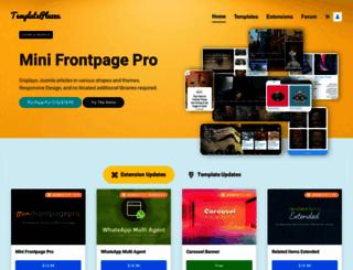 templateplazza.com screenshot