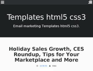 templates-html5-css3.blogspot.com.br screenshot