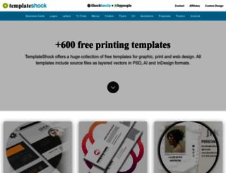 templateshock.com screenshot
