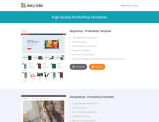 templatin.com screenshot