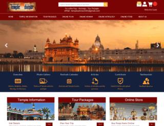 templeadvisor.com screenshot