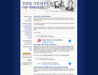 templeofdagon.com screenshot