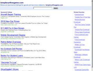templerunfreegame.com screenshot