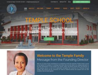 templeschoolng.com screenshot