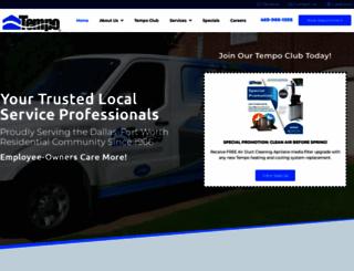 tempoair.com screenshot