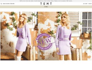 temt.com.au screenshot