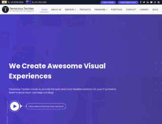 tenacioustechies.com screenshot
