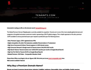 tenants.com screenshot