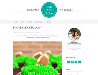 tenatthetable.com screenshot