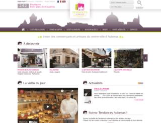 tendances-aubenas.fr screenshot
