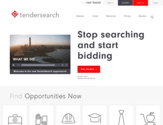 tendersearch.com.au screenshot