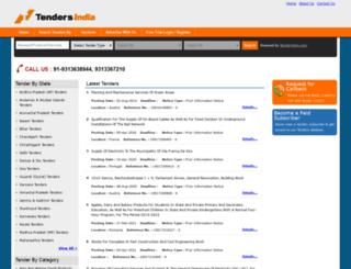 tendersindia.info screenshot