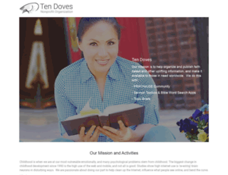tendoves.org screenshot